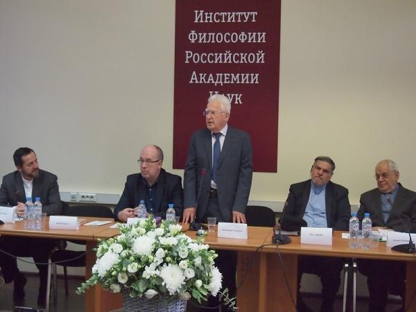 Выступление научного руководителя Института философии РАН академика Абдусалама Абдулкеримовича Гусейнова